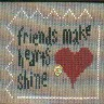 Friends Make Hearts Shine (Debra M)